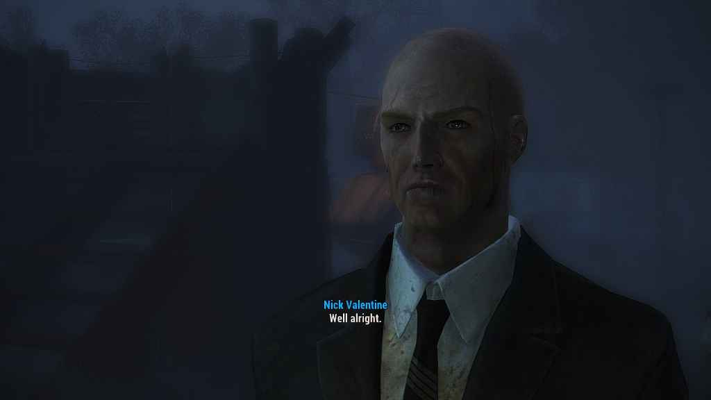 Мод Fallout 4 — Новый облик Валентайна