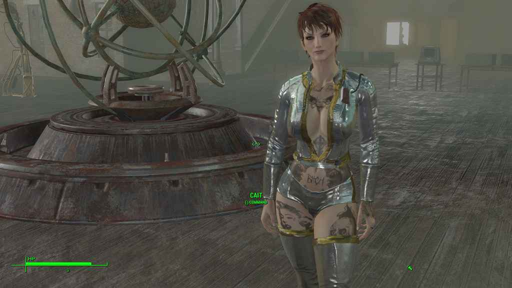 Мод Fallout 4 — Новая внешность Кейт (для CBBE)