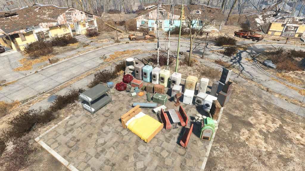 Мод Fallout 4 — Расширение системы строительства