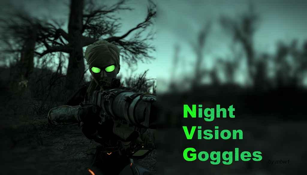 Мод Fallout 4 — Очки Ночного Видения