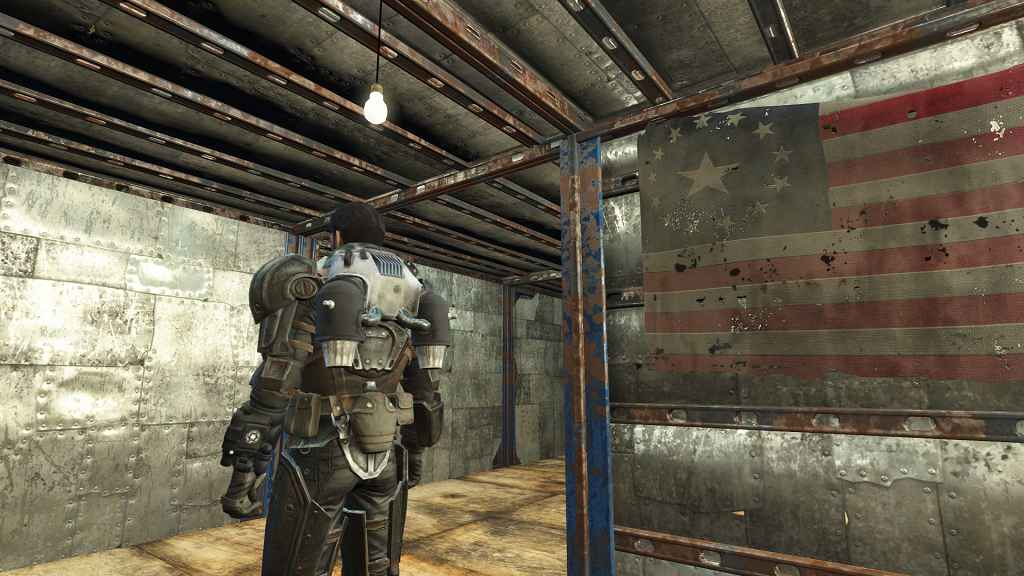 Мод Fallout 4 — Боевая Броня с Джетпаком