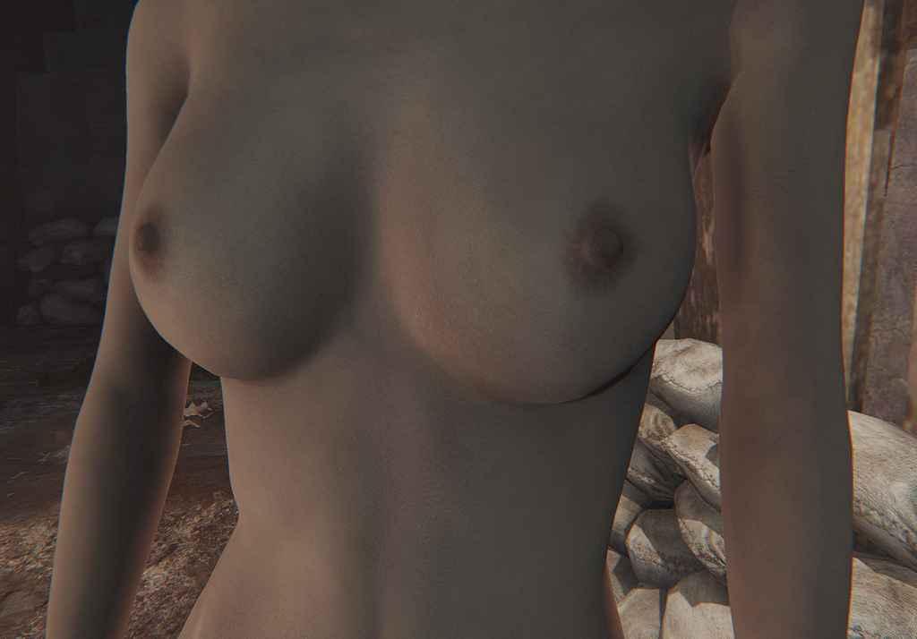 Мод Fallout 4 — СВВЕ Настоящий цвет кожи