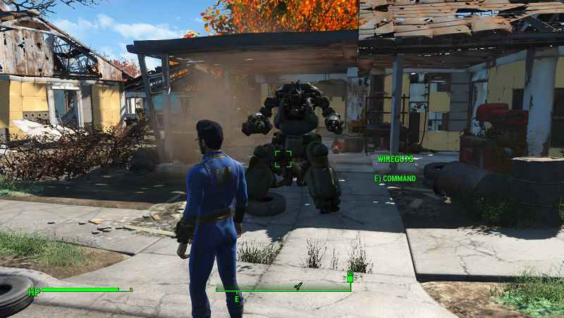 Мод Fallout 4 — Легендарный Робот