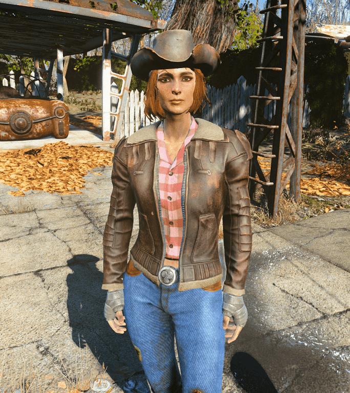 Fallout 4 — Одежда Кэсс