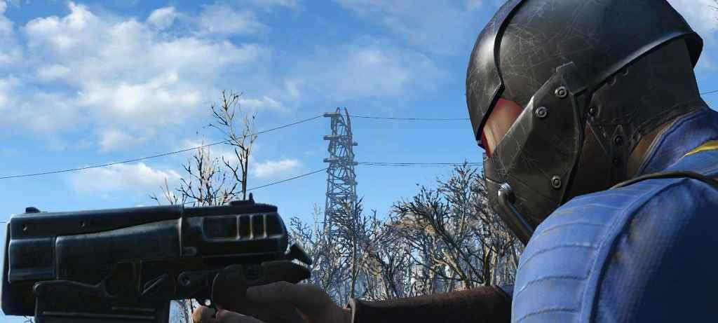Мод Fallout 4 — Черный шлем синтов