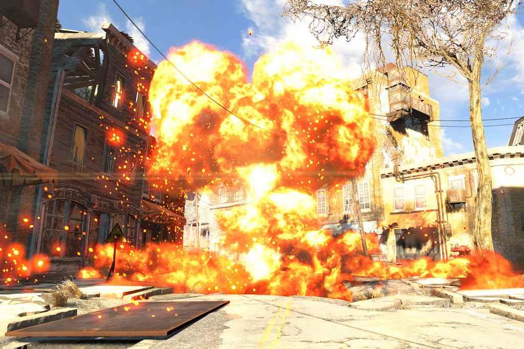 Fallout 4 — Впечатляющий звук взрыва ядерного оружия