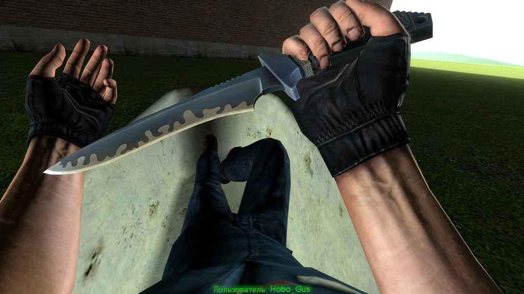 Мод Garry's Mod 13 — Суицидальный нож