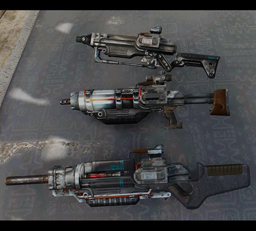 Мод Fallout 4 — Новый вид Штурмовой винтовки