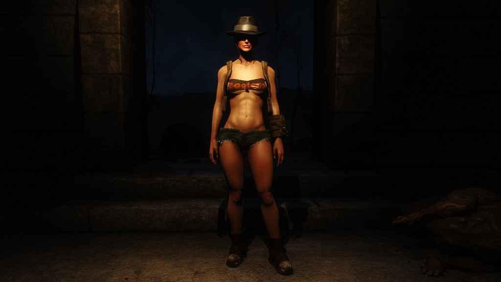 Мод Fallout 4 — Атлетичное тело для ЖГГ (CBBE)