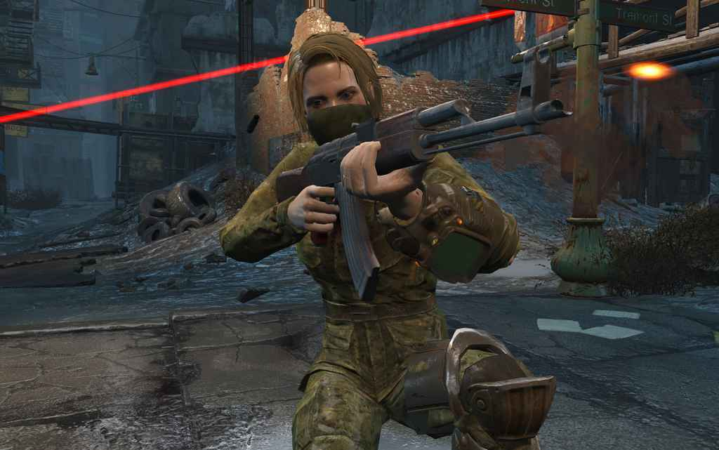 Мод Fallout 4 — АК-47 (Автономное оружие)