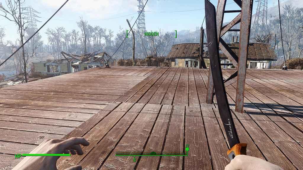 Мод Fallout 4 — Паранг-Мачете (HD)