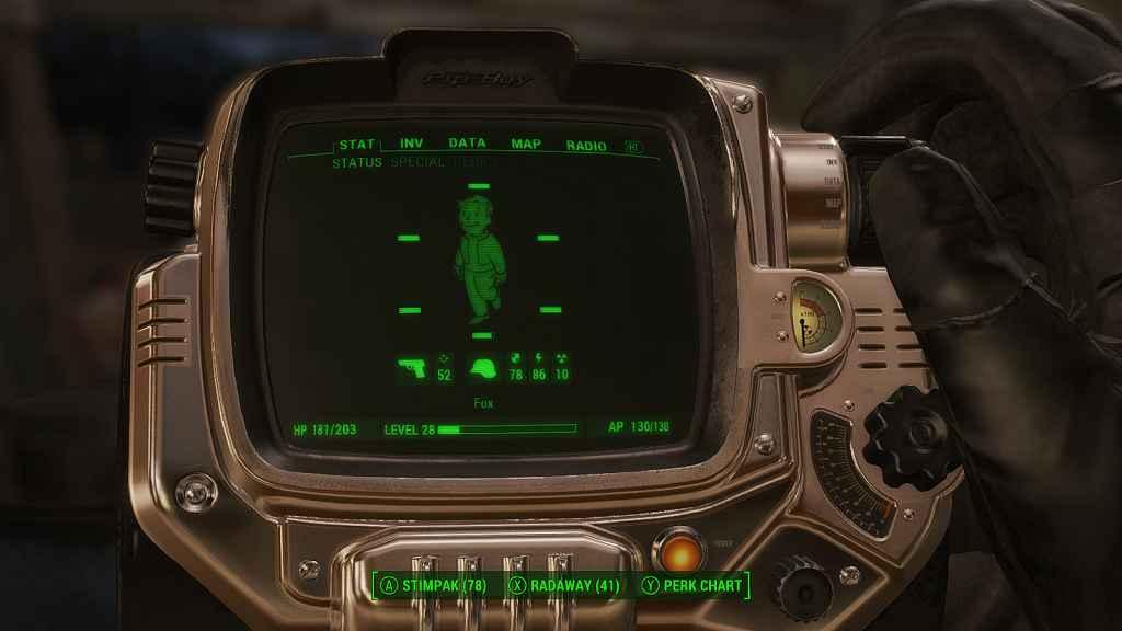 Мод Fallout 4 — Золотой Пип-Бой