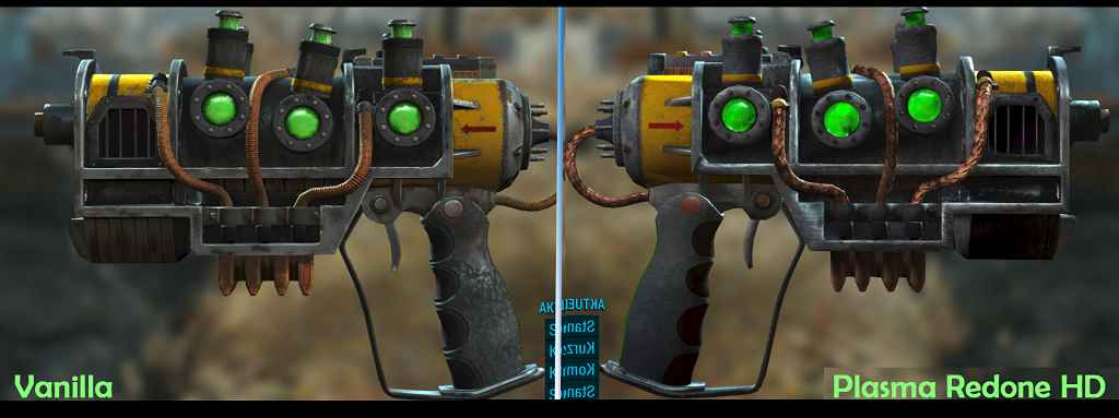 Мод Fallout 4 — Новые текстуры плазменной винтовки