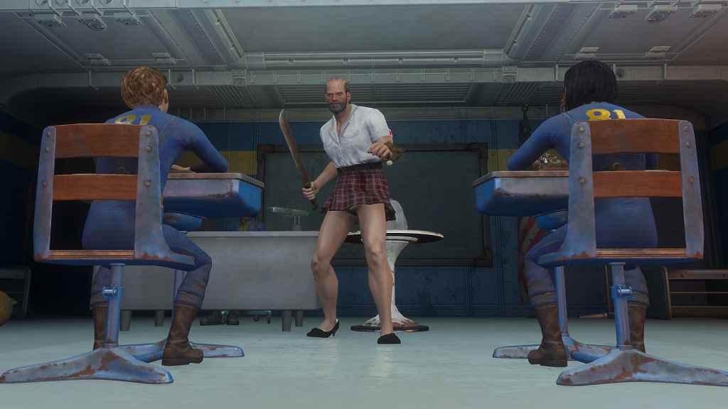 Fallout 4 — Форма школьницы (для CBBE)