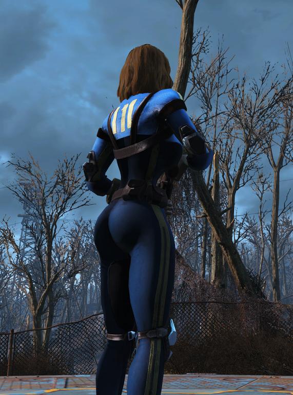 Мод Fallout 4 — Откровенный комбинезон убежища 111 (для CBBE)