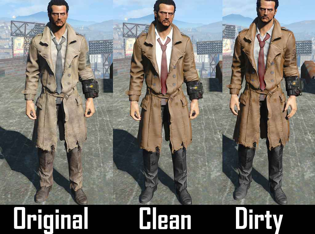Мод Fallout 4 — Плащ Константина