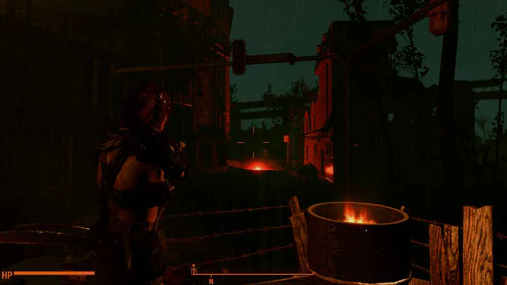 Мод Fallout 4 — Тени от фаеров