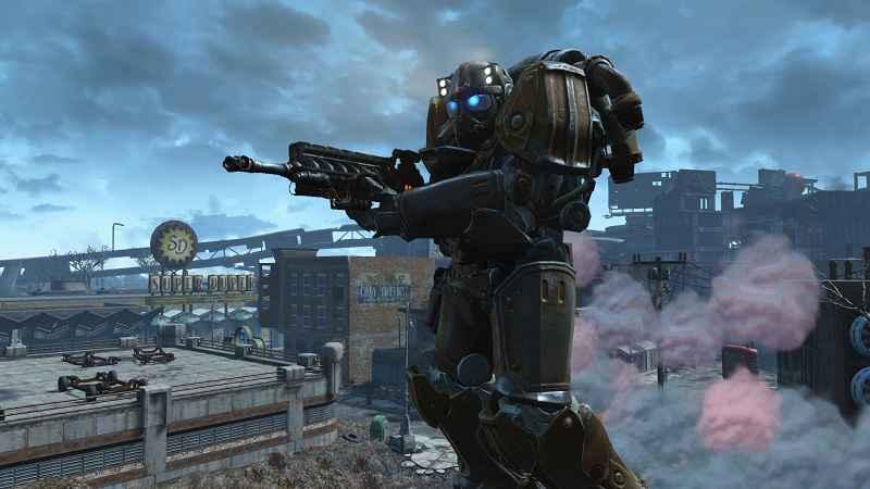 Мод Fallout 4 — Силовая боевая броня