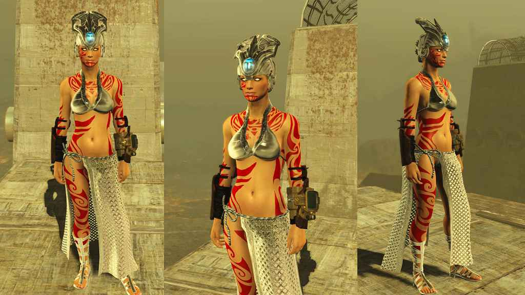 Мод Fallout 4 — Тематические древние платья