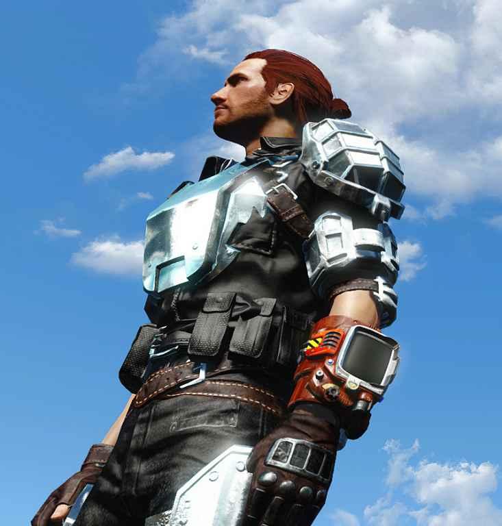 Мод Fallout 4 — Хромированная боевая броня