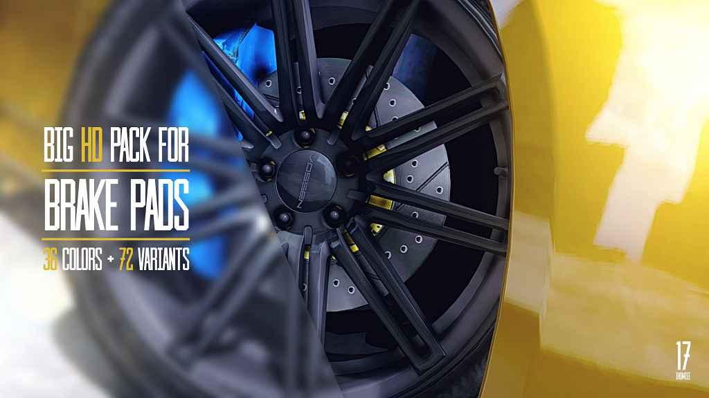 GTA 5 — Большой пак новых колесных дисков