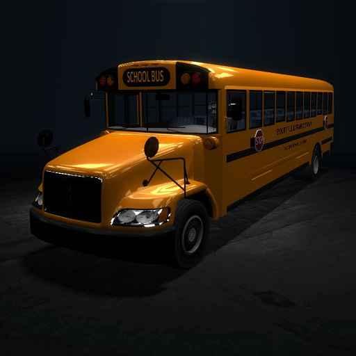 Мод Garry's Mod 13 — Школьный автобус