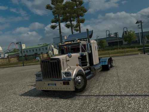 Мод ETS 2 — Kenworth W900A