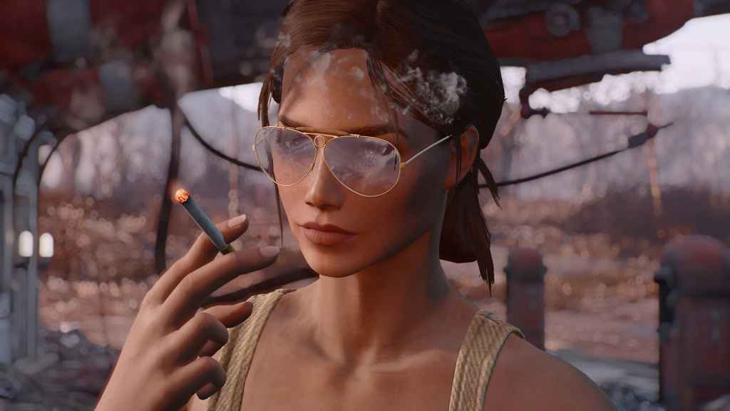 Мод Fallout 4 — Рэд Бэн. Новые очки