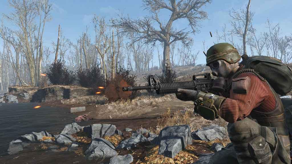 Мод Fallout 4 — Штурмовая винтовка М2216 (Автономное оружие)
