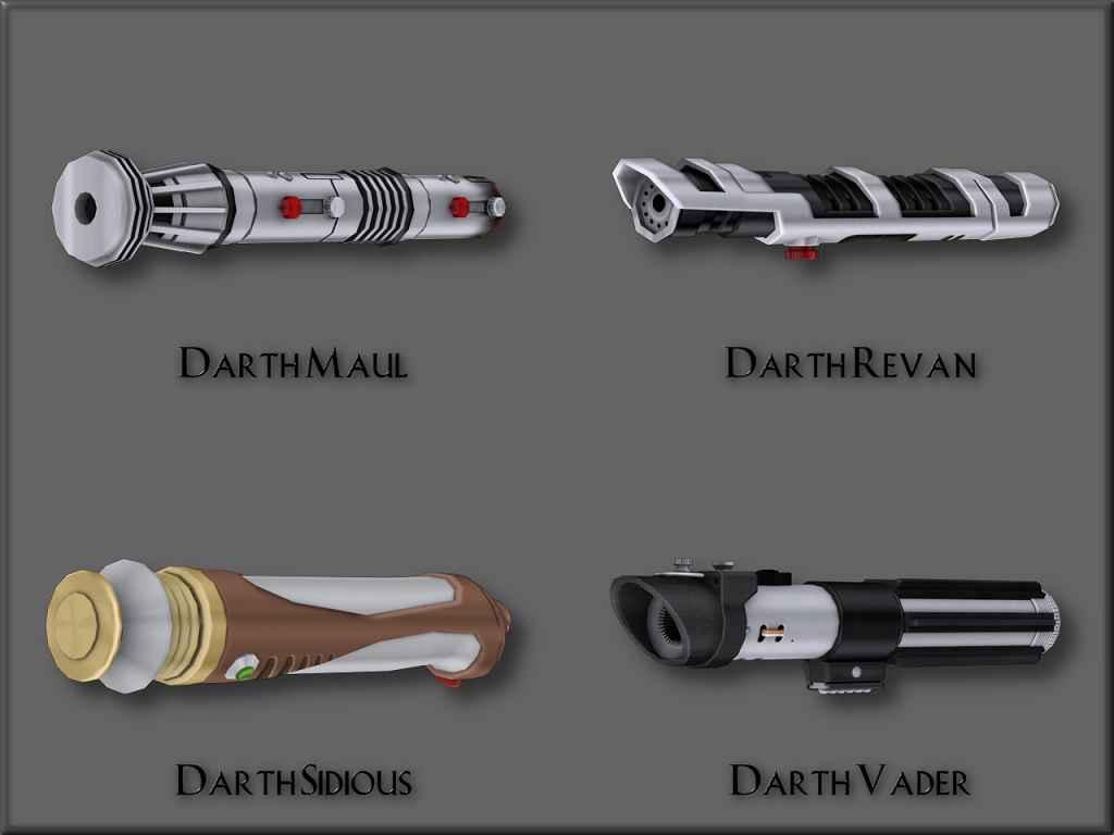 Мод Skyrim — Световые мечи героев