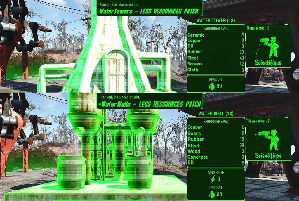 Мод Fallout 4 — Водяные Башни