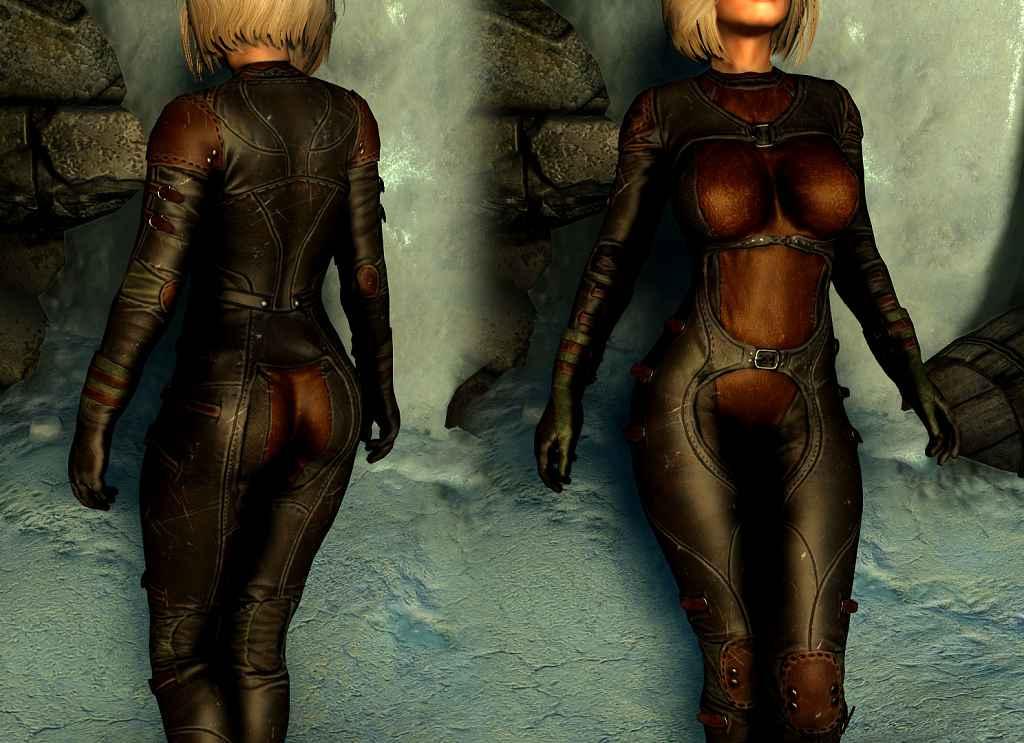 Мод Skyrim — Броня Ночной Тени