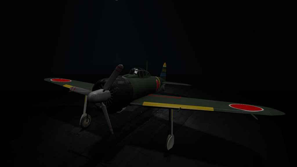 Мод Garry's Mod 13 — Самолет Mitsubishi A6M2 (WAC)