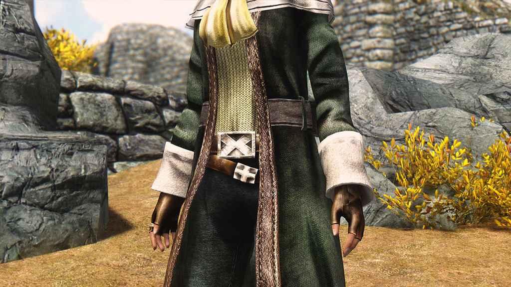 Мод Skyrim — Одеяние Арка из FFIII