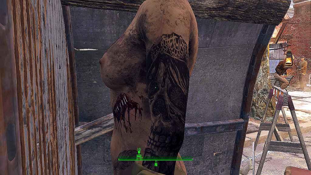 Мод Fallout 4 — Новая кожа для ЖГГ (для CBBE)