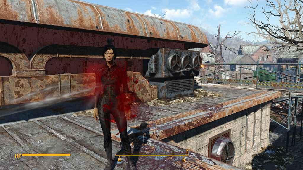 Мод Fallout 4 — Улучшенная реалистичная кровь