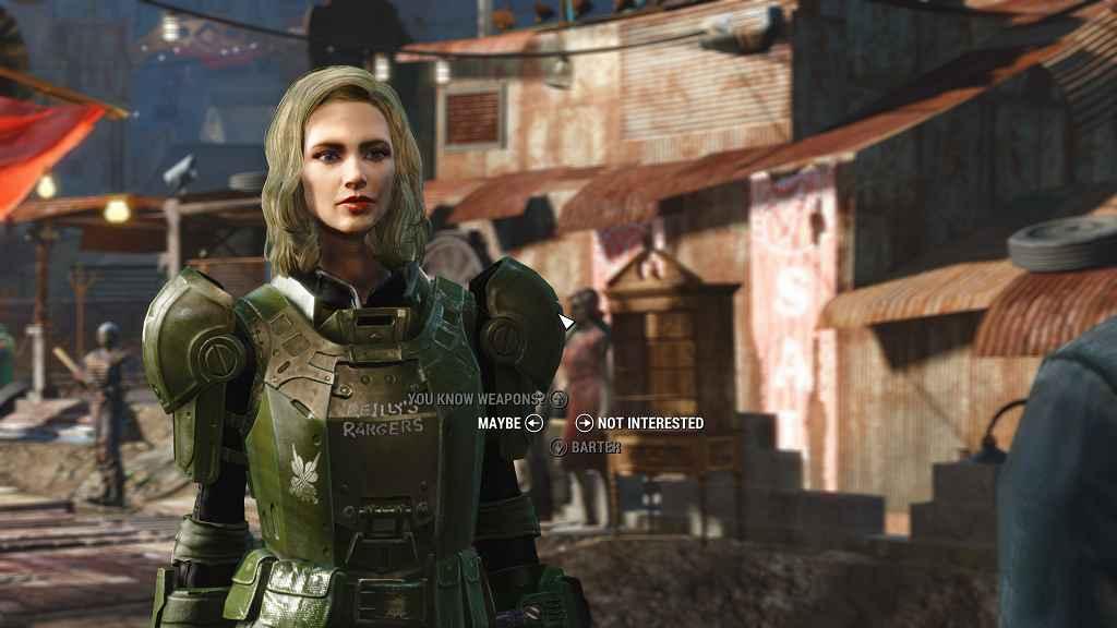 Fallout 4 — боевая броня рейнджеров Рейли