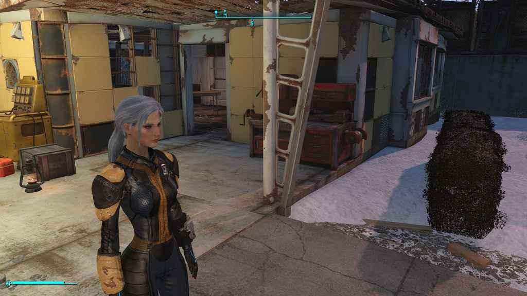 Мод Fallout 4 — Кожаный камуфляж