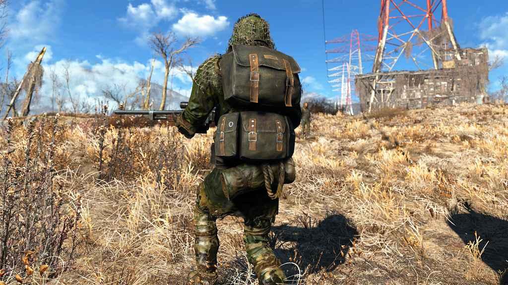 Мод Fallout 4 — Cнайпер Пустоши. Новый костюм