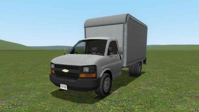 Мод Garry's Mod 13 — Грузовик Chevrolet (SCars)