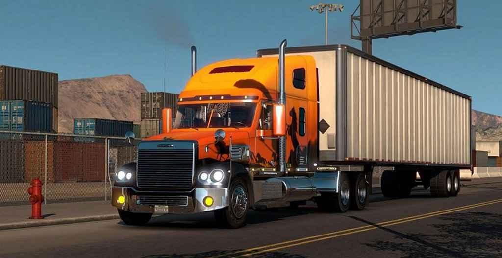 Мод ATS — Новый тягач Freightliner Coronado