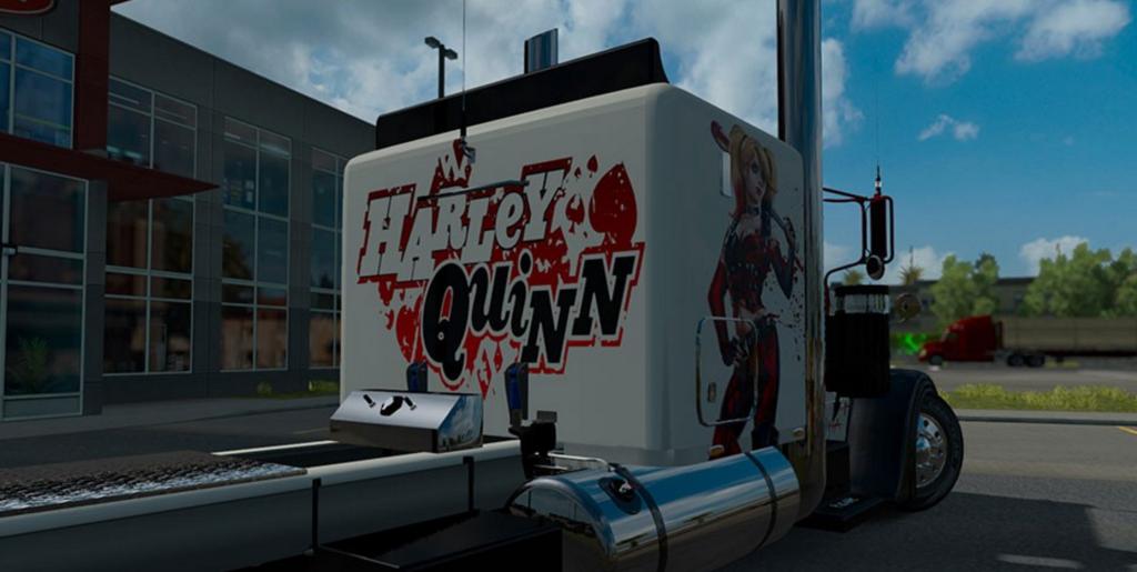 Модификация ATS — Скин Harley Quinn