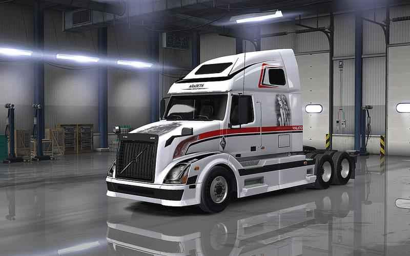 Модификация ATS — Новый тягач VOLVO VNL 670