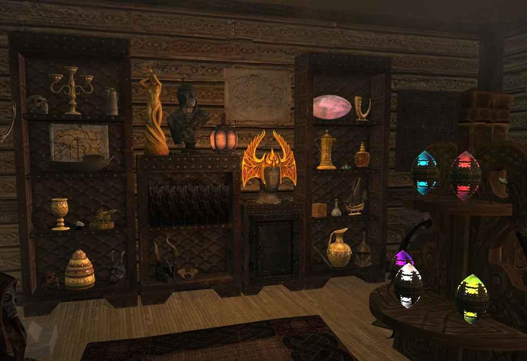 Мод Skyrim — Общие Витрины