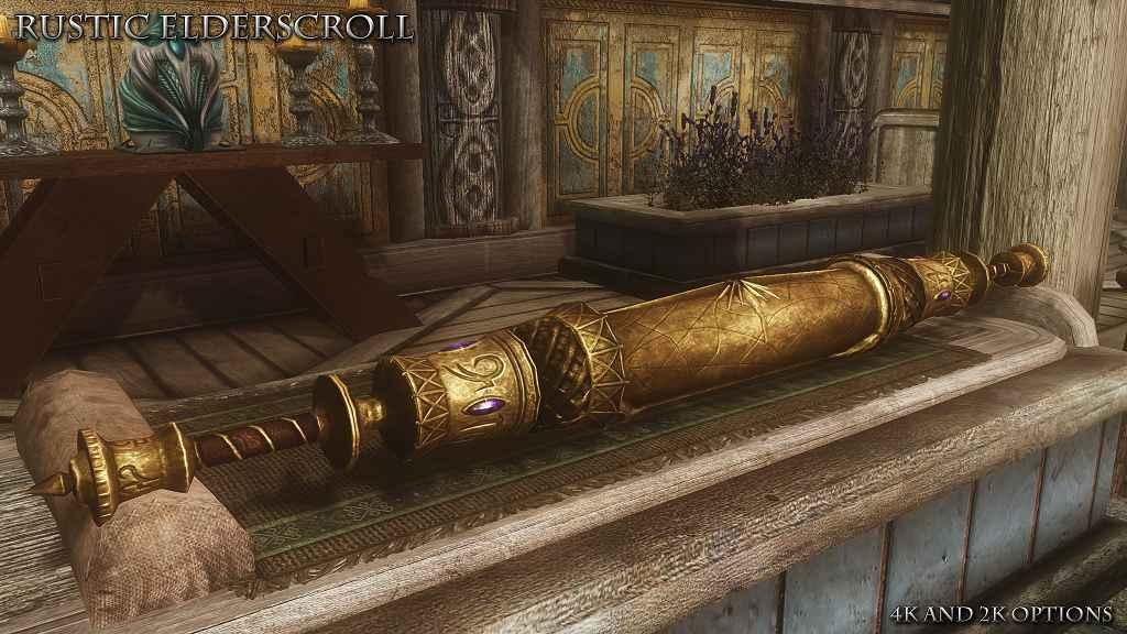 Мод Skyrim — HD Древний Свиток