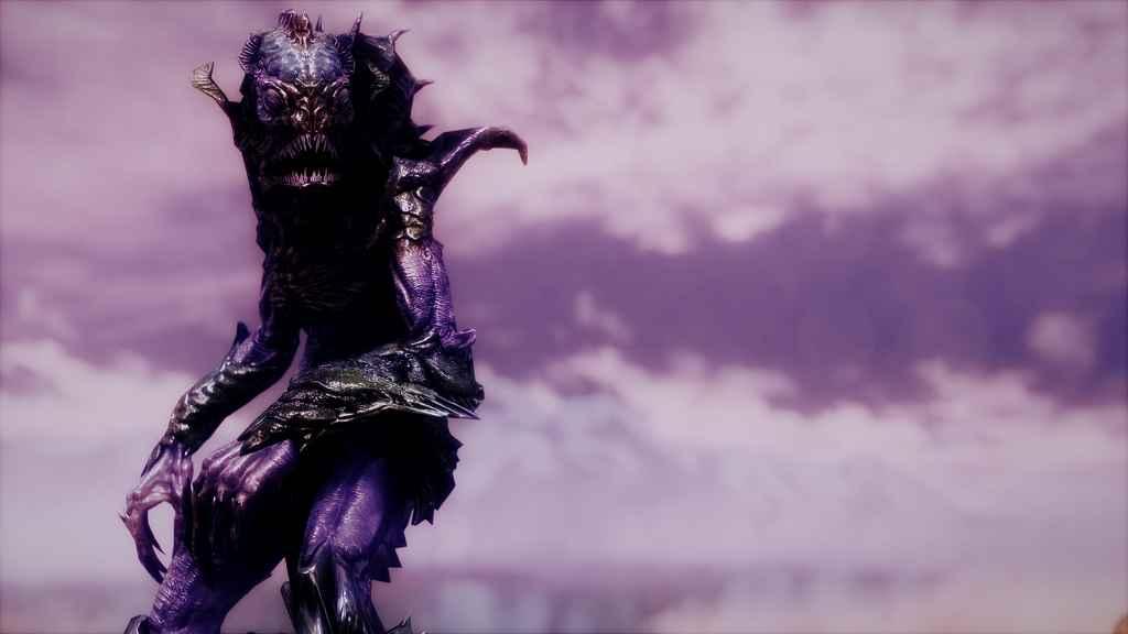 Мод Skyrim — Реплейсер Луркера и Искателя