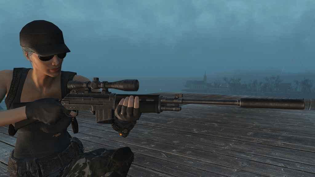 Мод Fallout-4 Боевая Винтовка G67