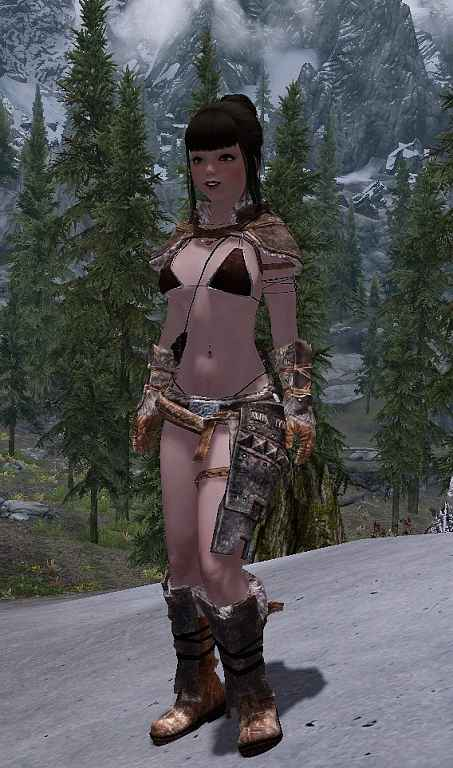 Мод Skyrim — Комплект брони для мага и воина