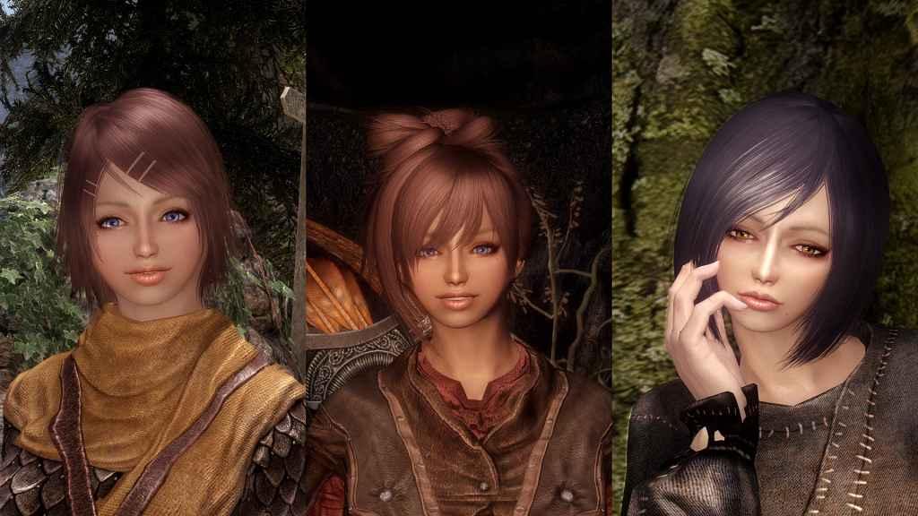 Мод Skyrim — Новые спутницы: Моника, Мира, Нора и Сандра