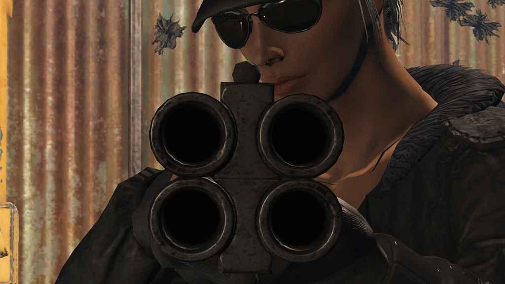 Мод Fallout 4 — Усовершенствование четырёхстволкки